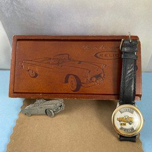 Vintage Fossil/Relic 1955 Ford Thunder Bird Watch